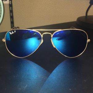 Polarized Aviator Ray-Bans